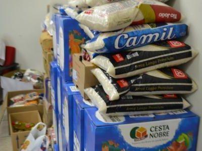 Campanha de Arrecadação de Alimentos é lançada no último sábado
