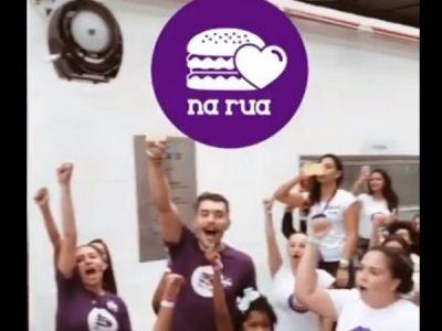 Hamburgada do Bem faz ação social no CTA Canindé