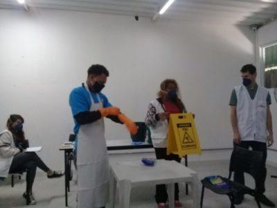 CTA Canindé recebe ação do Médicos Sem Fronteiras contra COVID-19