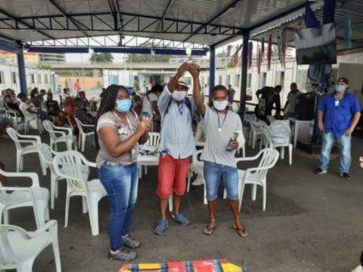 O SIAT II realiza torneio de dominó e integra conviventes