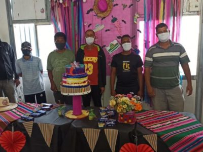 Festa de aniversariantes do mês no SIAT II