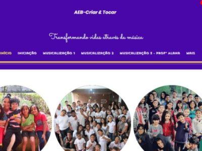 Criar & Tocar traz melhorias e atualizações no site de aulas para o ano 2021