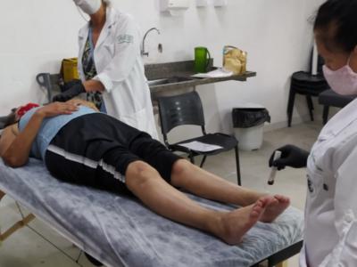 CTA Canindé presta atendimento de acunputura para conviventes
