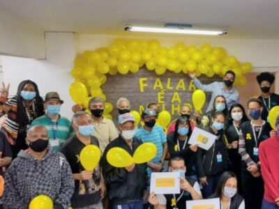 CAE Idosos realiza palestra sobre a prevenção ao suicídio no mês do Setembro Amarelo