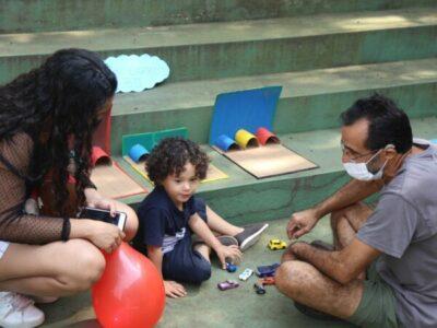 Festa da família no CEI Jardim Monte Azul exibe artes realizadas pelos alunos
