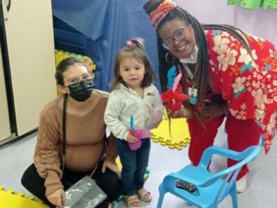 Festa da família no CEI Liberdade realiza diversas atividades para as crianças e familiares